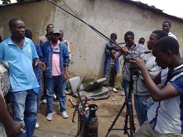 Shooting web docu Ndirande